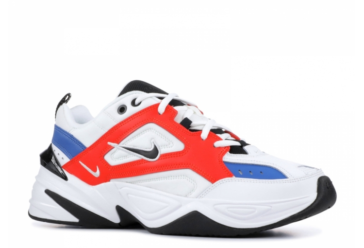 Nike m2k Tekno White Black Orange AO3108-101