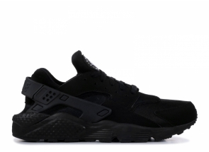 Nike Air Huarache Black Black White 318429-003