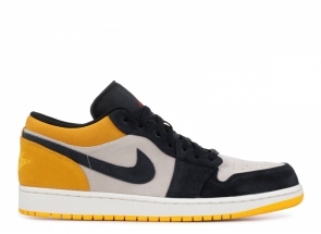 Nike AIR AIR JORDAN 1 LOW UNIVERSITY GOLD 553558-127