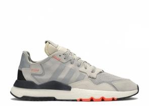 Adidas Nite Jogger Grey Two Solar Orange DB3361