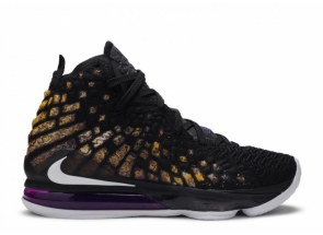 Nike LeBron 17 Lakers BQ3177-004/BQ3178-004