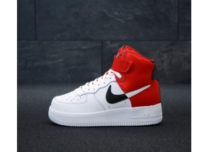 Nike Air Force 1 NBA Mid White/Red