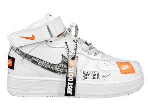 Nike Air Force 1 High Just Do It Pack White AO5138-001