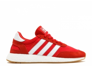 Adidas Iniki Runner Red White Gum BY9728