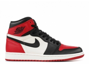Jordan 1 Retro High OG Bred Toe 555088-610