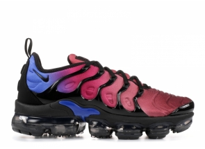 Nike Air VaporMax Plus Black Team Red Hyper Violet AO4550-001