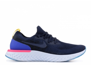 Nike Epic React Flyknit College Navy AQ0070-400