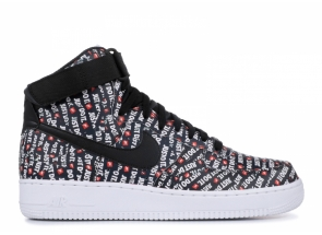 Nike Air Force 1 High Just Do It Pack Black AO5138-001