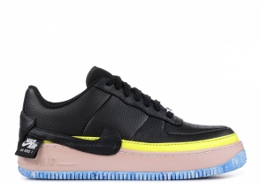 Nike Air Force 1 Jester XX Black Sonic Yellow Arctic Orange AT2497-001
