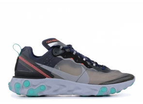 Nike React Element 87 Black Neptune Green AQ1090-005