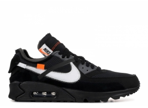 Off-White x Nike Air Max 90 Black