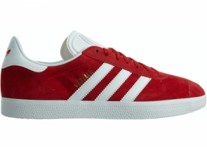 Adidas Gazelle Scarlet White Gold Metallic S76228