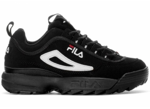 Fila Disruptor 2 Black White Red 1FM00139-014