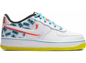 Nike Air Force 1 Low Back To School 2020 CZ8139-100