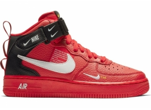 Nike Air Force 1 Mid Utility University Red 804609-605