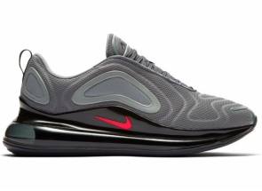 Nike Air Max 720 Cool Grey Bright Crimson Black CK0897-001