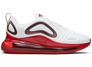 Nike Air Max 720 White Hyper Crimson CD2047-100