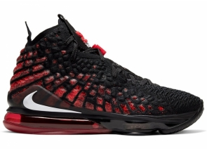 Nike LeBron 17 University Red Black BQ3177-006