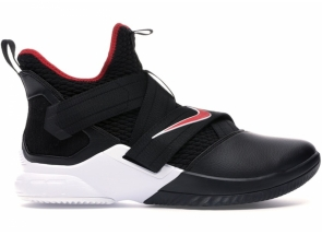 Nike LeBron Soldier 12 Bred AO2609-001