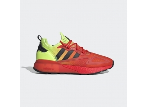 Adidas ZX 2K Boost Solar Yellow Hi Res Red FW0482