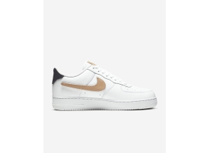 Nike Air Force 1 Low Removable Swoosh Pack White Vachetta Tan CT2253-100