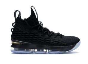 Nike LeBron 15 Black Gold 897648-006