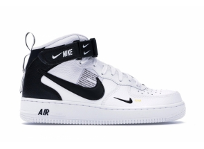 Nike Air Force 1 Mid Utility White Black 804609-103