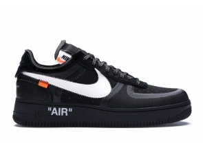 Nike Air Force 1 Low Off-White Black White AO4606-001