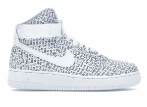 Nike Air Force 1 High Just Do It Pack White AO5138-100