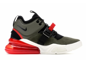Nike Air Force 270 Medium Olive/Challenge Red AH6772-200