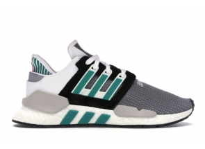 Adidas EQT Support 91/18 Core Black Sub Green AQ1037