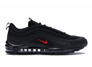 Air Max 97 All-Over Print Black Red AR4259-001