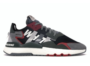 Adidas Nite Jogger White Mountaineering Black EG1686