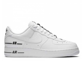 Nike Air Force 1 Low Double Air Low White Black CJ1379-100