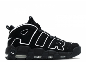 Nike Air More Uptempo Black White 414962-002