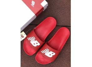 New Balance Slippers Red