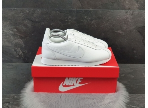 Nike Classic Cortez Leather All White