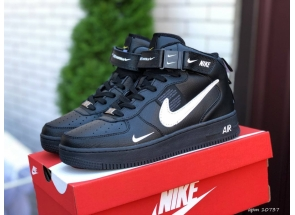 Nike Air Force 1 Mid Thermo Black White