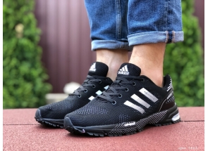 Adidas Marathon TN Black White