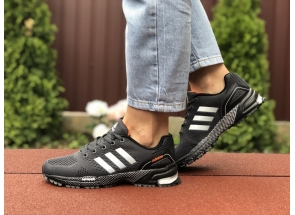 Adidas Marathon TN Black White Orange